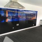 Custom Printed Glass Splashback 4