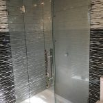 Modern Frosted Shower Screen 2
